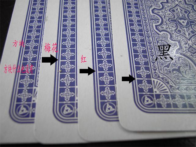 如何在扑克牌上做记号|记号扑克牌的辨别方法 看牌隐形眼镜 图6