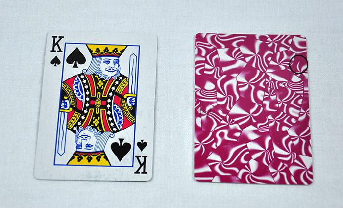 如何在扑克牌上做记号|记号扑克牌的辨别方法 看牌隐形眼镜 图4