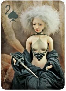 扑克牌上的人物 记号扑克 图12