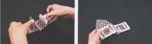 扑克牌技之做桥的手法一讲 牌技 图2