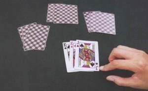 记号扑克牌识别,给扑克做记号