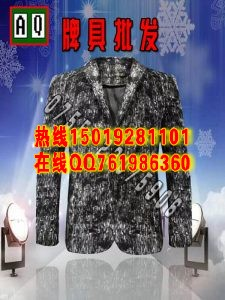 西装滑袖大量出货(可订做/加工)